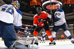 Simmonds In The Thick Of Flyers' Success