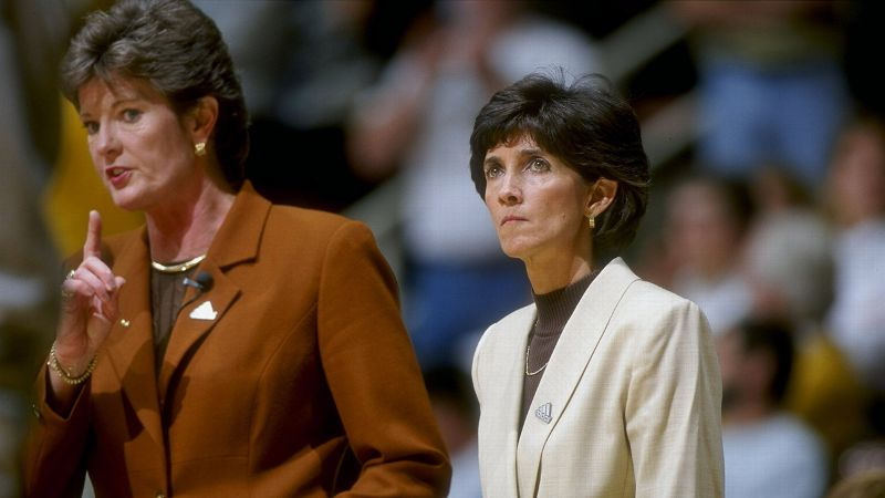 Pat Summitt, above, with longtime assistant Mickie DeMoss, won eight national titles, but it's her 1997-98 team that has really stood the test of time and is widely considered her best ever. Compiling a 39-0 record, Tennessee allowed just three opponents to finish within 10 points. The Lady Vols won their third straight NCAA title with a 93-75 victory over Louisiana Tech.