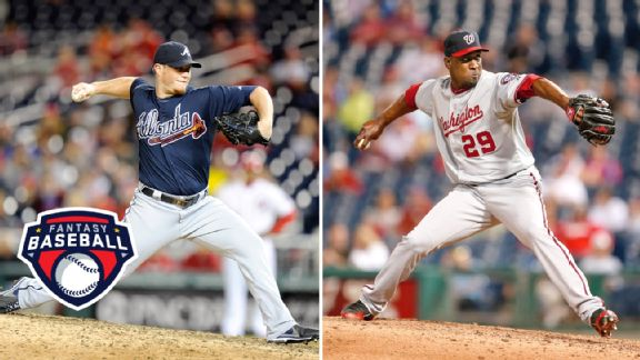 Craig Kimbrel and Rafael Soriano