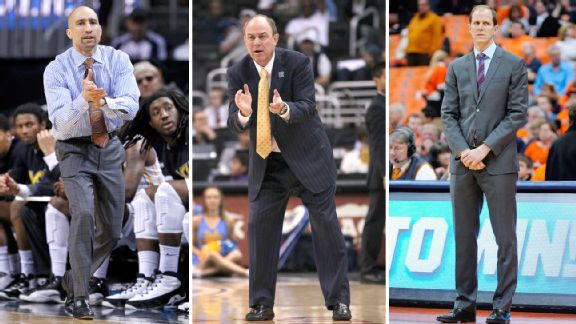 Shaka Smart, Ben Howland and Mike Hopkins