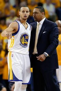 Mark Jackson and Stephen Curry