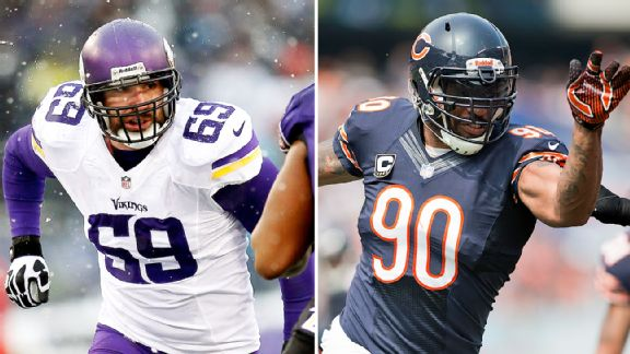 Jared Allen and Julius Peppers