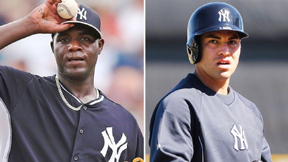 Michael Pineda and Jacoby Ellsbury