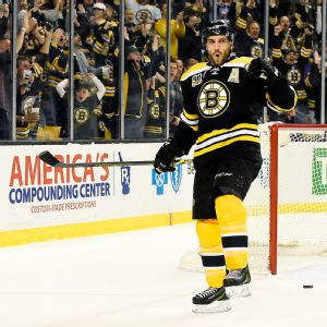 Patrice Bergeron had his best season, recording 30 goals and 32 assists for 62 points, and should win the Selke Trophy.
