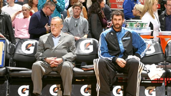 Rick Adelman and Kevin Love