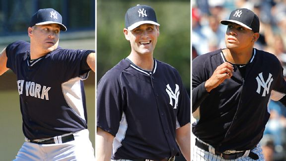 Shawn Kelley, Matt Thornton & Dellin Betances
