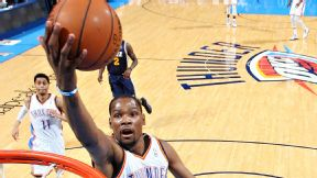 Doc's diagnosis: Durant is hardest to defend