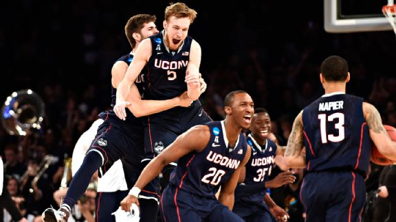 Connecticut Huskies making the NCAA tournament Final Four