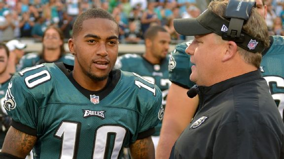 Chip Kelly and DeSean Jackson