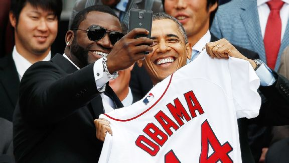 David Ortiz, Barack Obama