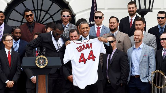 President Barack Obama, Boston Red Sox