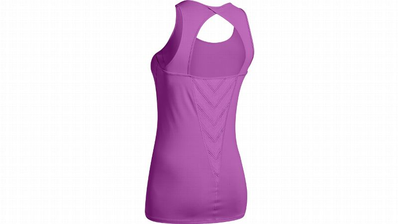 It may just look like another cute workout top, but its construction is specifically designed to help you keep your cool. It's designed to move heat away from your body quickly while the mesh along the back of the tank delivers extra breathability.