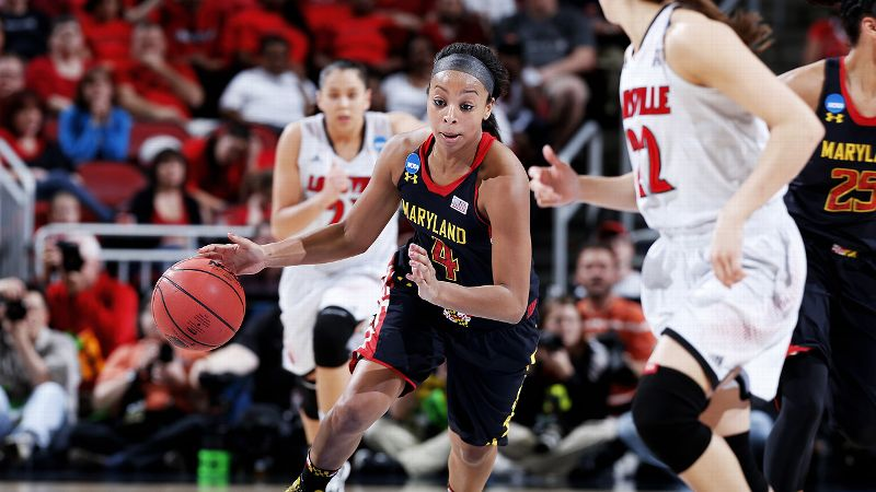 With country newcomers Kip Moore and Justin Moore vying neck-and-neck for the ACM honors, Maryland freshman Lexie Brown stands out from her fellow Final Four rookies. Averaging 10.1 points and 4.2 assists per game, Brown is the Terps' second-leading scorer and has started all but five games this season. The daughter of former NBA player and current Sacramento Kings assistant Dee Brown, the 5-foot-9 guard made the ACC all-freshman team and was one of just two freshmen to be named to the Nancy Lieberman Award watch list in January.  Brown scored 20 points and grabbed six rebounds in Maryland's 76-73 win over Louisville to advance to the Final Four.