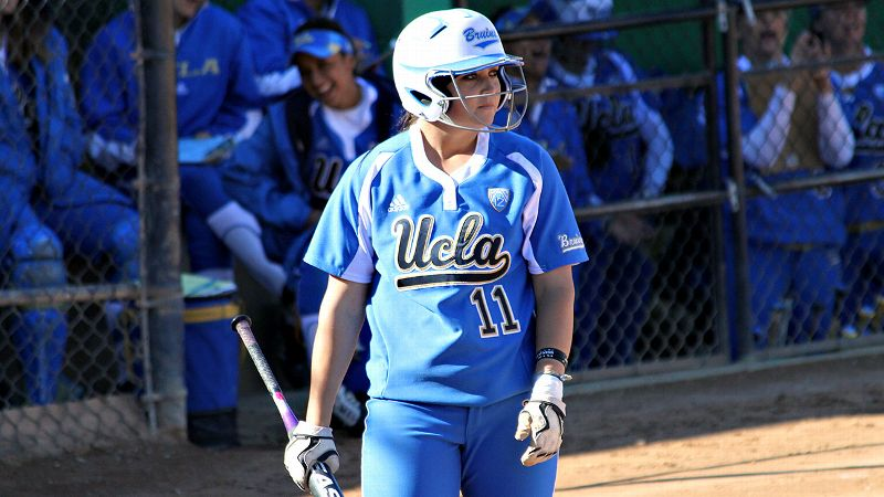 Catcher Stephany LaRosa combines with pitcher Ally Carda to give UCLA quite a battery.