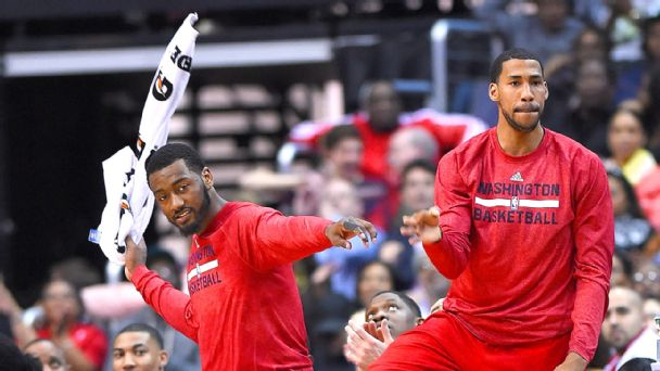 John Wall and Garrett Temple