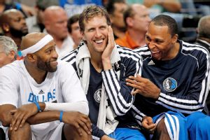 Vince Carter, Dirk Nowitzki and Shawn Marion