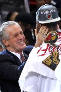 Pat Riley and Chris Bosh