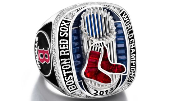 Red Sox World Series rings