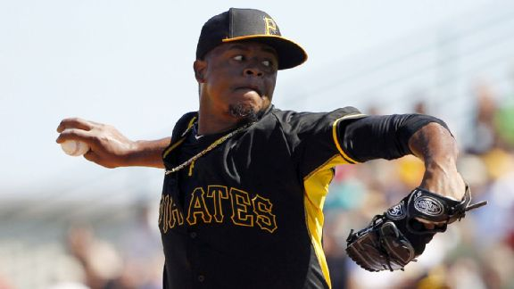 Crasnick: Volquez could be Pirates' new rescue