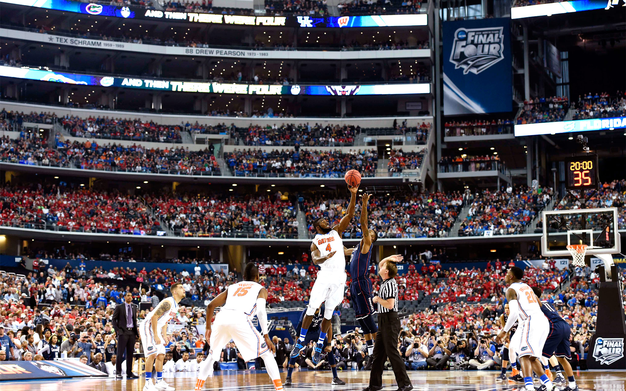 Patric Young, Phillip Nolan - 2014 NCAA Tournament: Final ...