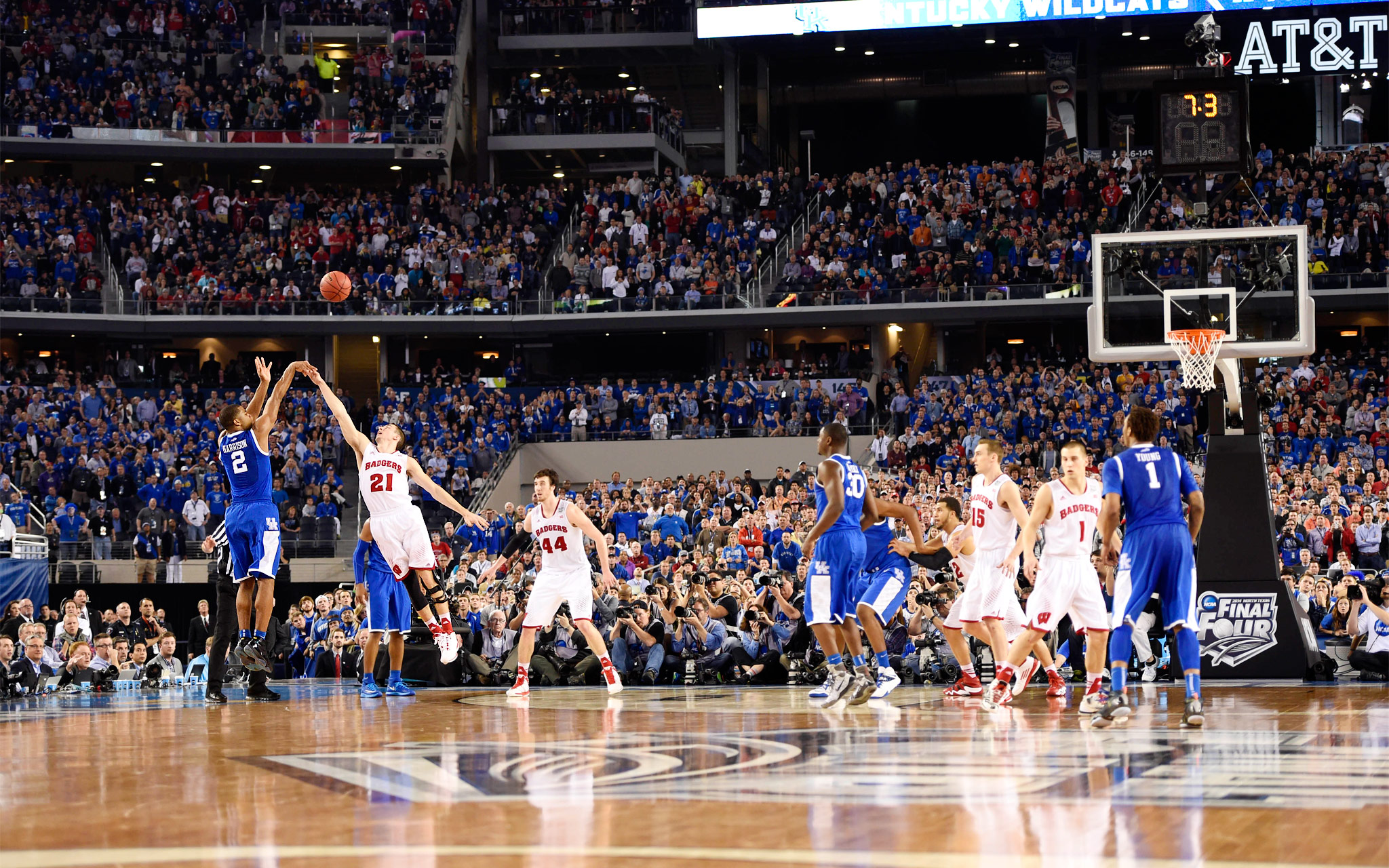 Aaron Harrison - 2014 NCAA Tournament: Final Four - ESPN