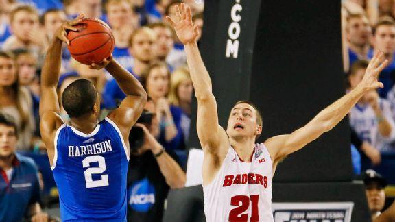 Aaron Harrison, Josh Gasser