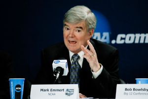 Mark Emmert said that the recent attempt by college athletes to unionize is a grossly inappropriate solution to the NCAA's issues.