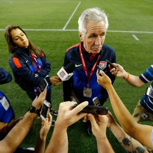 The U.S. women's national team was unbeaten last year under Tom Sermanni, winning 13 matches and drawing three, but it had a disappointing Algarve Cup in March (two losses and a draw in three matches).