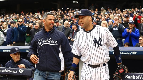 Jorge Posada and Derek Jeter