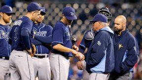 Rays P Moore needs season-ending surgery