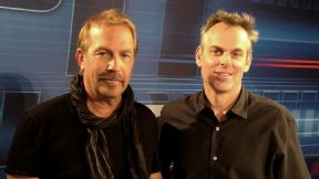 Colin Cowherd and Kevin Costner