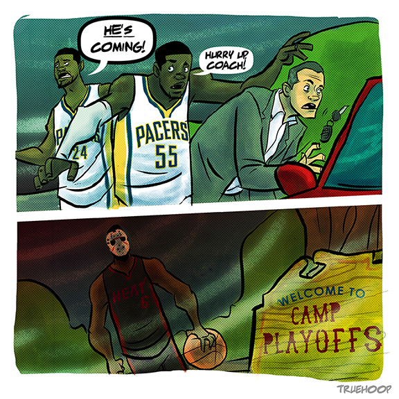 Pacers Cartoon