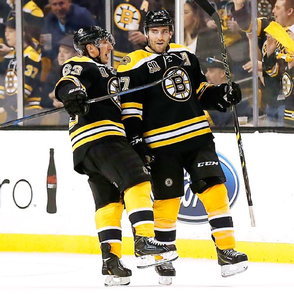 Bergeron Nets 30th Goal, Sits Out 3rd Period