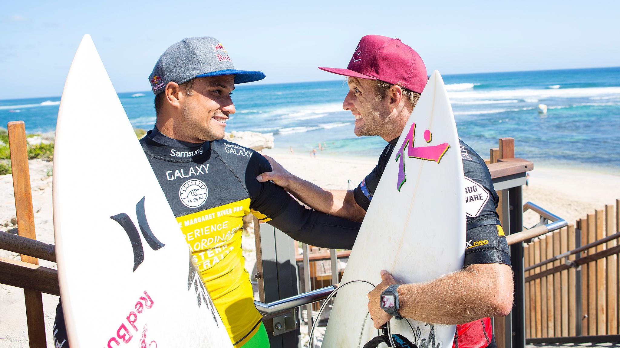 Michel Bourez, Josh Kerr
