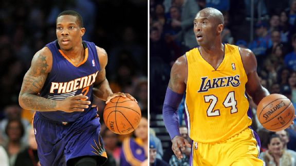 Eric Bledsoe and Kobe Bryant