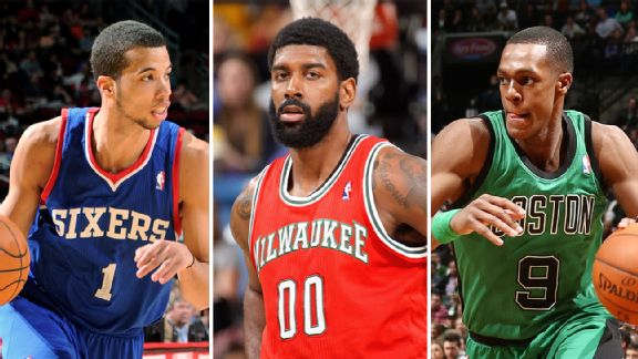 Michael Carter-Williams, O.J. Mayo, Rajon Rondo