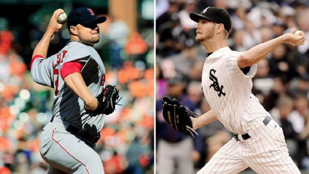 Jon Lester, Chris Sale