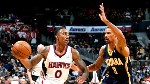 Jeff Teague and George Hill