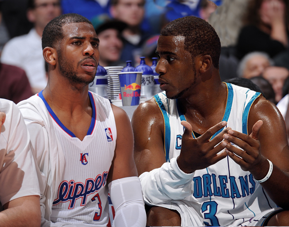 Chris Paul of the Los Angeles Clippers, then and now