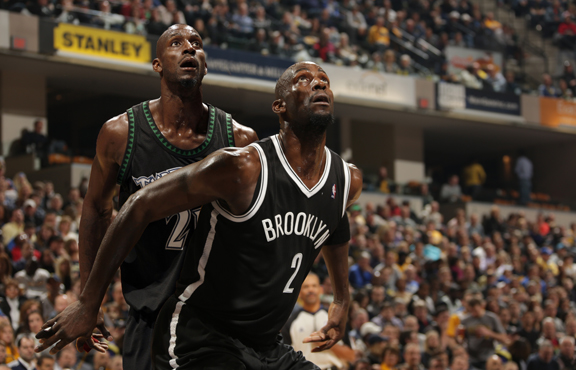 Kevin Garnett of the Brooklyn Nets, then and now
