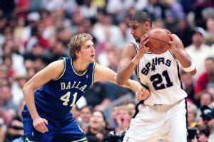 Dirk Nowitzki, Tim Duncan