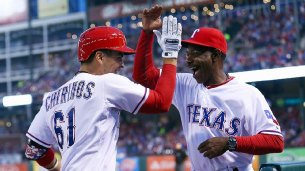 Robinson Chirinos, Ron Washington