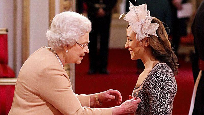 Queen Elizabeth, Jessica Ennis