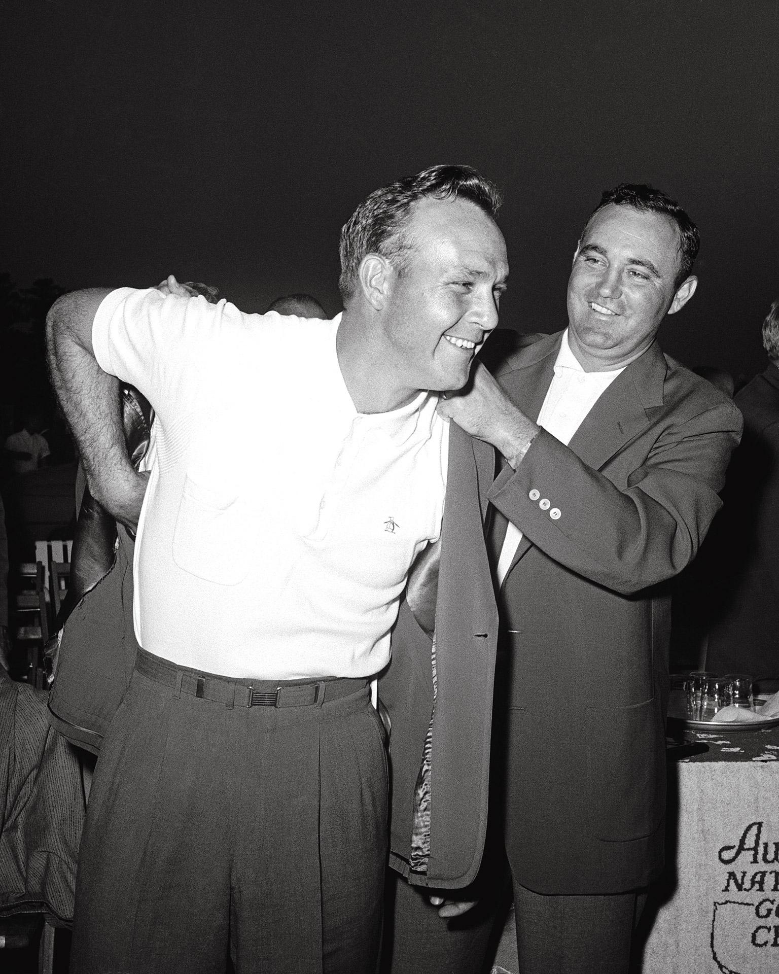 Palmer 1958 Masters