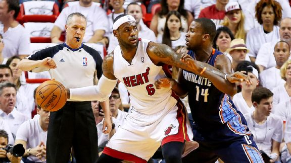 LeBron James, Michael Kidd-Gilchrist