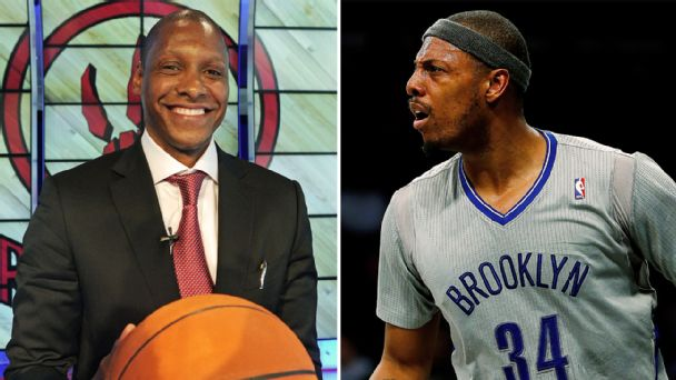 Masai Ujiri, Paul Pierce