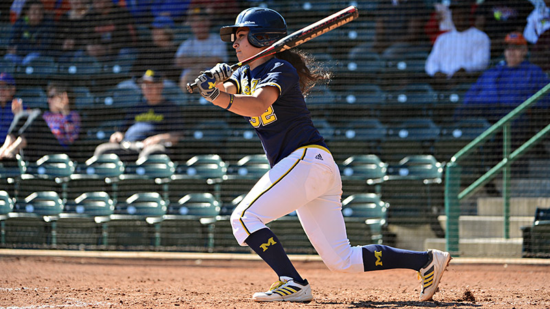 Sierra Romero is batting .514 and could finish with one of the highest averages in NCAA history.