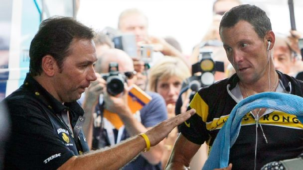 Johan Bruyneel and Lance Armstrong