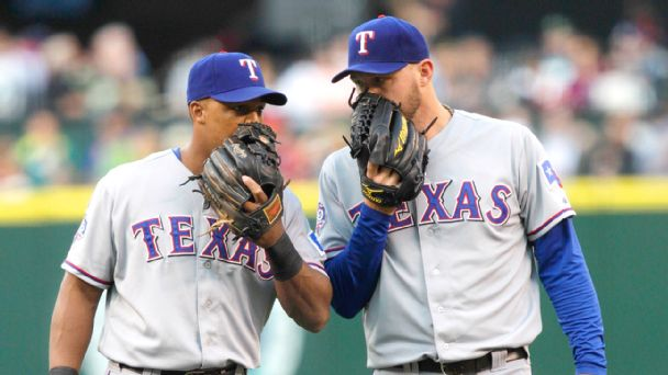 Matt Harrison and Adrian Beltre