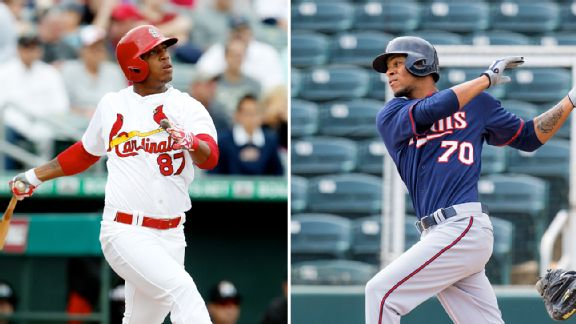 Oscar Taveras and Byron Buxton